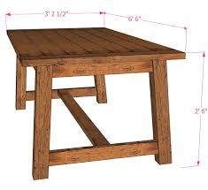 remodelaholic build a farmhouse dining table within build a dining