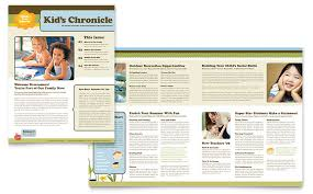 templates for word newsletters child development school newsletter template word publisher