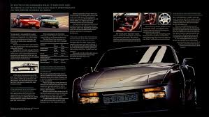 porsche 944 special edition turbo s sales brochure pages 2 3 porsche 944 turbo resource