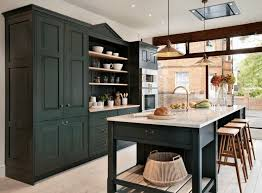 Distressed Black Kitchen Island Kitchen Black Tall Kitchen Cabinet Featuring Black Kitchen Island