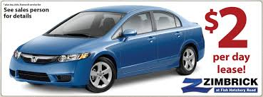 lease a honda civic wisconsin honda dealer announces outstanding lease offers for