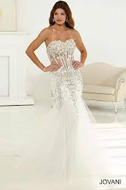 corset wedding dresses white and silver mermaid dress with corset bodice and tulle skirt