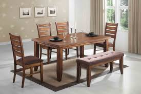 dining room sets for 6 6 dining room sets with bench leetszone greenvirals