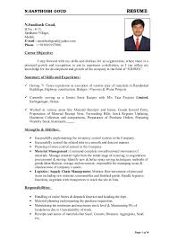 sample resume for fresh graduate marine transportation resume