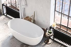 Lucite Bathtub Bathtub Acrylic Freestanding White Oval
