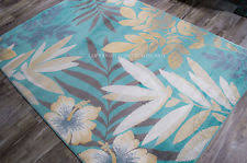 Tropical Print Area Rugs Tropical Area Rugs Ebay