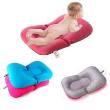siège bain bébé non slip de bain bébé tapis de bain baignoire pliable siège doux