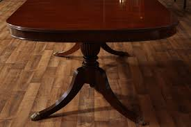 higher end antique style dining table reproduction furniture