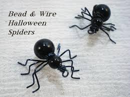 beaded halloween spider video tutorial youtube