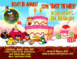 angry birds birthday party invitation template free stephenanuno com