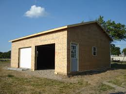 modern large design of the barn construction plans that has brown
