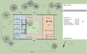 plan de maison de plain pied avec 4 chambres charmant plan maison plain pied avec piscine 4 plan maison