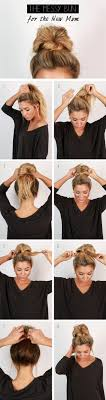 easy messy buns for shoulder length hair 48 messy bun ideas for all kinds of occasions