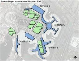 Boston Hubway Map by Logan Airport Terminal C Map Map Of Logan Airport Terminal C