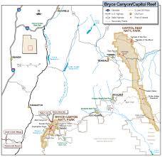 bryce map pdf bryce national park map bryce national park mappery