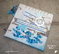nautical photo album nautical album cover the crafts world