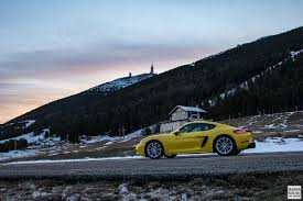 porsche winter mont ventoux no go drive a december morning porsche 718 cayman
