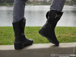 motorcycle boots boots puma roadster v3 motorcycle boot review motorcycle usa