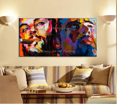 aliexpress com buy hand painted modern abstract unique portrait