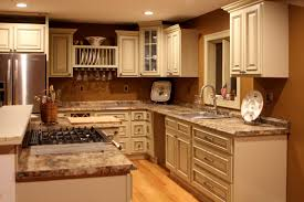 White Traditional Kitchen Design Ideas by Kitchen Cool Floor Tiles Idea Made From Concrete Material