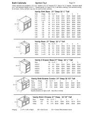 Desk Drawer Dimensions Nice Design Vanity Sizes Standard With Standard Bathroom Drawer