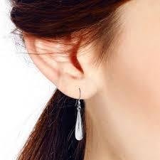 earrings everyday everyday drop sterling silver dangle earrings aeravida
