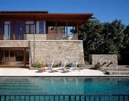 stone wood house exterior homes pinterest house plans 4103