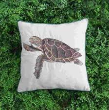 vezo home embroidered brown turtle sofa cushions home decorative vezo home embroidered brown turtle sofa cushions home decorative throw pillows chair seat home decoration pillowcase 18x18inch replacement outdoor cushions