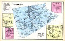 map of northton ma historic map works residential genealogy