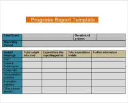 it progress report template daily progress report templates writing word excel format