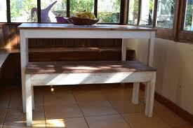 table et banc de cuisine salle manger avec banc étourdissant table de cuisine avec banc et