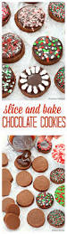 slice and bake chocolate cookies recipe