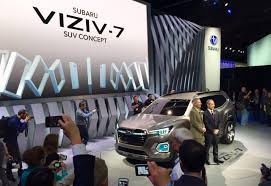 subaru viziv 7 subaru returns to 3 row suv game with viziv 7 concept
