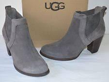 s grey ankle ugg boots nwb womens ugg cobie ii block heel bootie nightfall gray sz 8m ebay