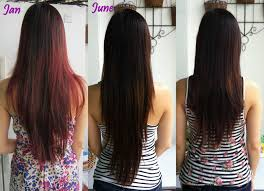 back of hairstyle cut with layers and ushape cut in back long wavy layers hairstyle for women man