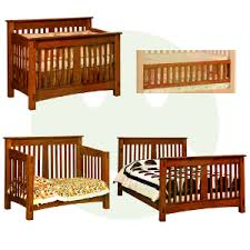Wood Convertible Cribs Mccoy 4 In 1 Convertible Baby Crib Made In Usa Baby Eco Trends