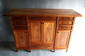 Rivers Edge Bedroom Furniture Handmade Walnut And Sapele Custom Sideboard By Bow River Craftsman