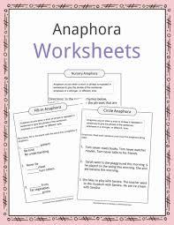 Flag Day Reading Comprehension Worksheets Anaphora Examples Definition U0026 Worksheets For Kids