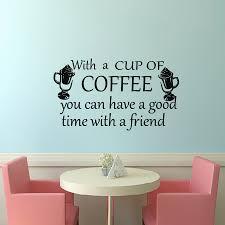 design de interiores de estilo moderno popular buscando e dctop com uma xicara de cafe adesivos de parede vinil removivel home decor adesivo de parede