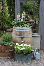 9 best wine garden images on pinterest whiskey barrels