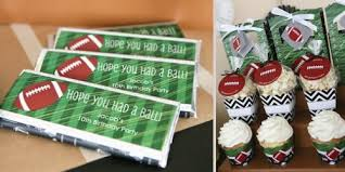 football party decorations 90 football birthday party centerpieces diy field goal post