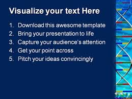 dna abstract science powerpoint templates and powerpoint