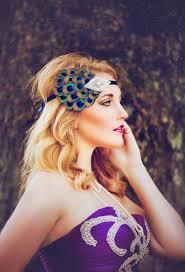 1920 hair accessories silver rhinestone headpiece 1920s flapper headband great gatsby