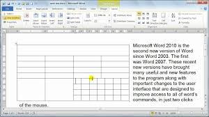 How To Set A Table Properly by Microsoft Word 2010 Formatting Tables Table Properties