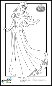 princess aurora coloring pages getcoloringpages com
