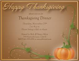 free thanksgiving dinner invitations templates happy thanksgiving