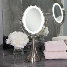 lighted magnifying makeup mirror design cordless lighted makeup mirror allowing you to move it