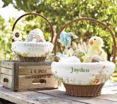 easter basket liners personalized celebrate easter with pottery barn kids