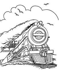 Steam Locomotive Coloring Pages Steam Train Run In Speed Coloring Page Netart by Steam Locomotive Coloring Pages