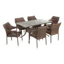 best selling home decor cliff rectangular outdoor dining set the